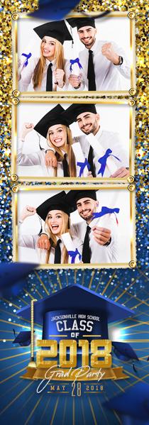 Grad Celebrate 4 Pic Strip